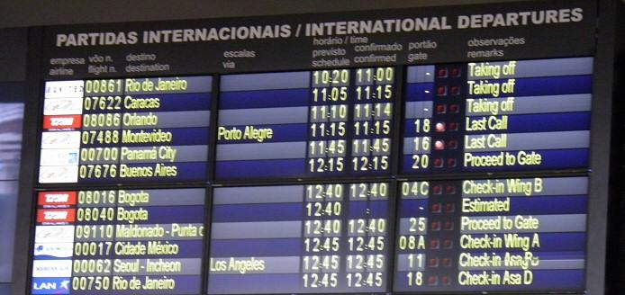 Internationale Abflüge: immer mehr Brasilianer verbringen aus Kostengründen ihren Urlaub im Ausland