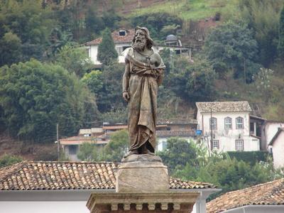 estátua de tiradentes - ouro preto - mg