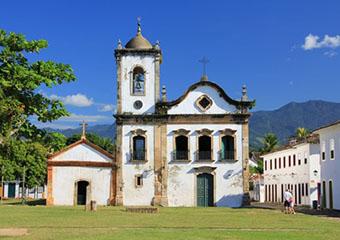 Eglise de Paraty - Brésil