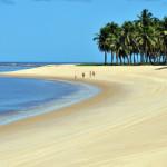 spiaggia di gunga in brasile