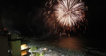 Reveillon 2014 - Praia de Boa Viagem - Prefeito Geraldo Julio