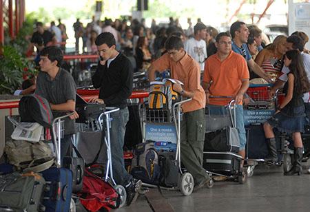 Flughafen Check-In_AgenciaBrasil