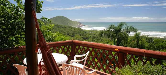 Hotel mit Blick aufs Meer