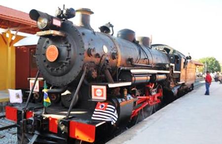 Trem Prefeitura de Guararema SP
