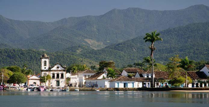 Blick auf das Koloniale Paraty - Foto: Alex Braga/Fotolia.com