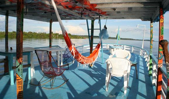 Amazonasschiff AYNARA_Deck