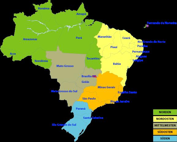 brasilien_5-regionen